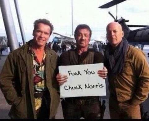 <3, perdón Chuck, nada personal...