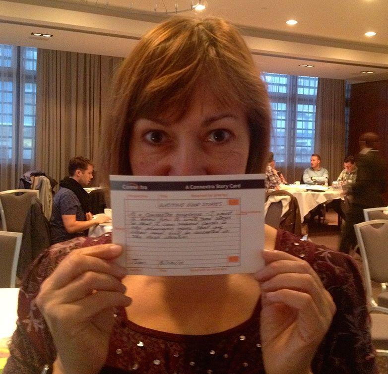 Image Result For Rachel Davies Agile Template Card  Agile