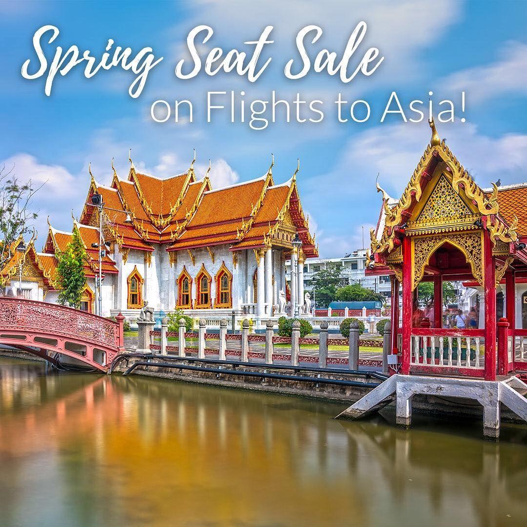 Take advantage of the ATC Sensational Spring Seat Sale to