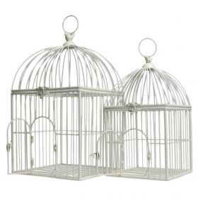 Set 2 Classic Tropical Birdcage - £95.00 *autumn-winter* from Dotcomgiftshop