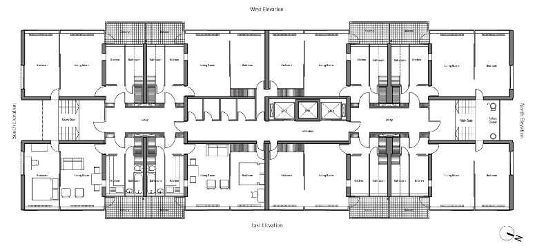 GreatArthurHousetypicalfloorplanjpg 775 363 Vis – Council House Floor Plans