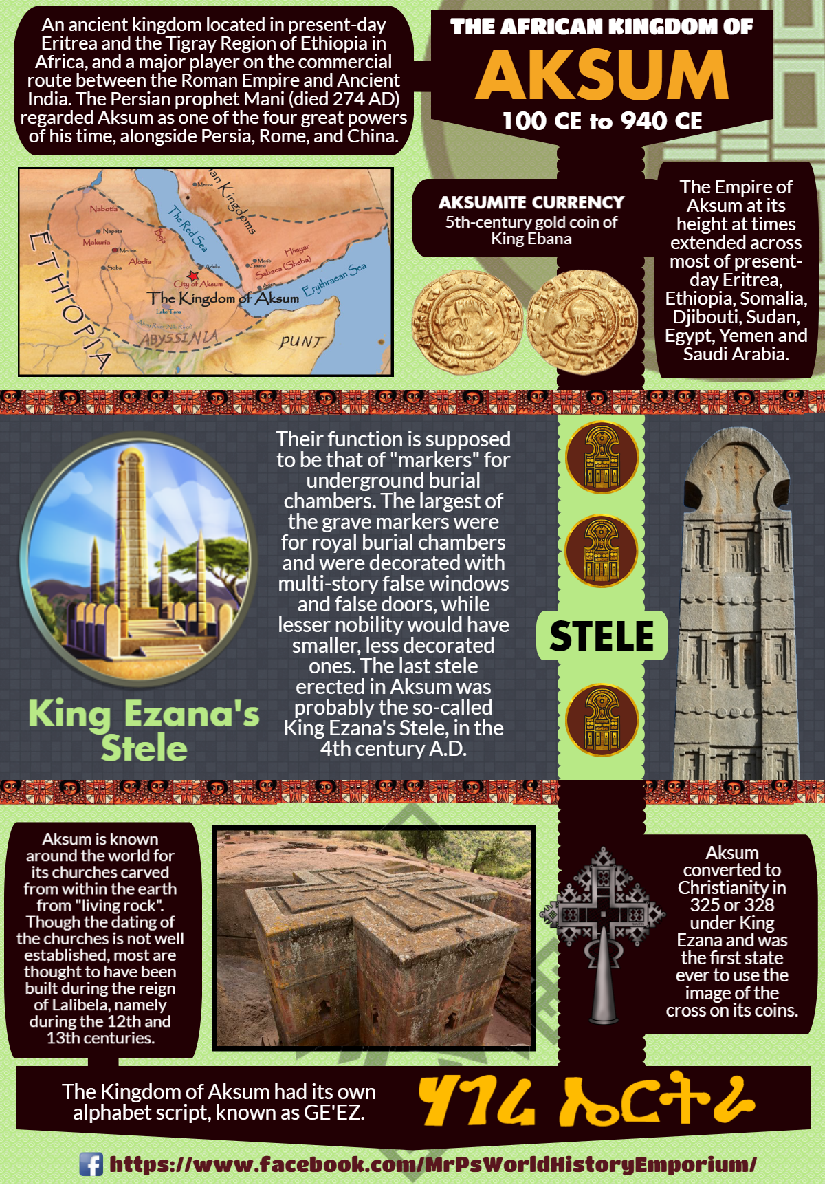 The Ancient African Kingdom Of Aksum Axum A Powerful