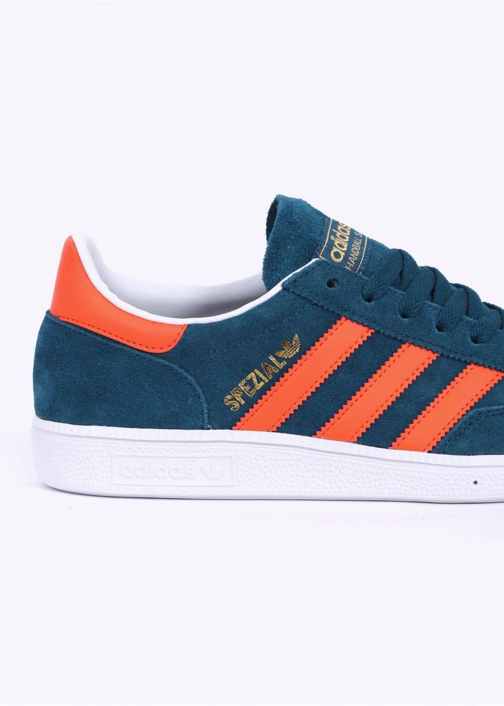 a765accdff38 Adidas Originals Footwear Spezial Trainers - Mineral Grey