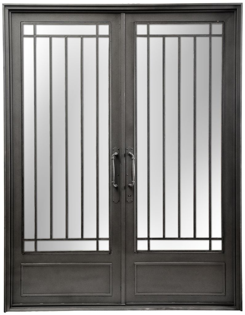 Puerta de entrada de hierro del hierro design puertas for Puertas de entrada de fierro