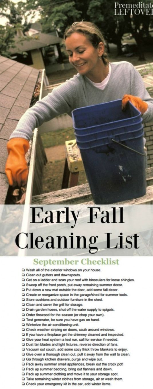 With the arrival of fall it's time to start preparing for cold weather. Get your...  - Home Maintenance -
