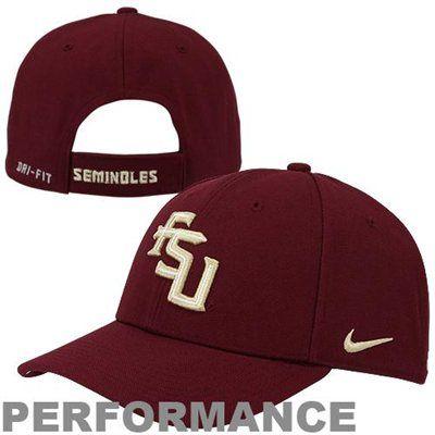 196b0f7b2 Nike Florida State Seminoles (FSU) Dri-FIT Heritage 86 Campus Adjustable  Performance Hat - White