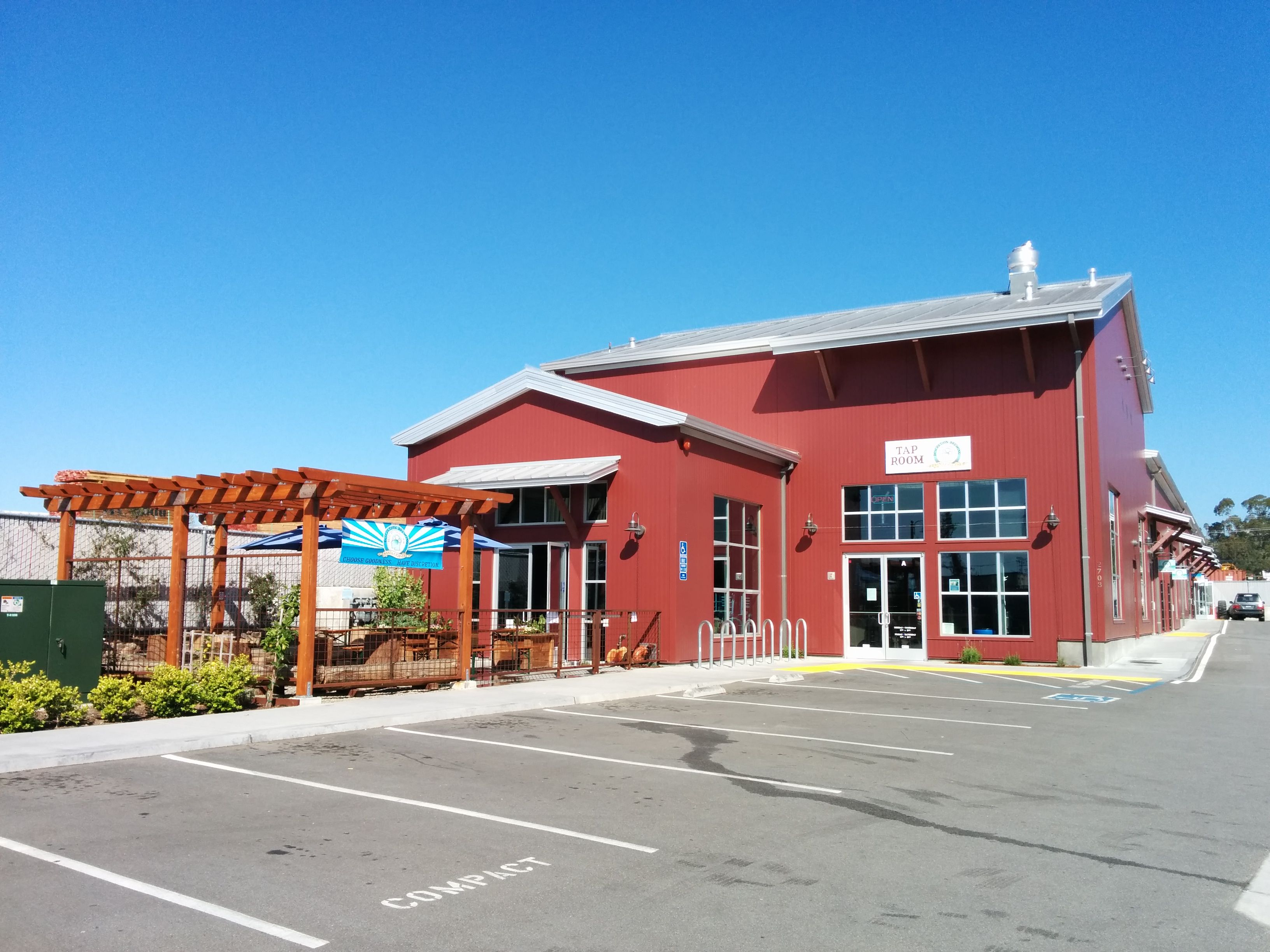Discretion brewing 2703 41st ave soquel ca tap room
