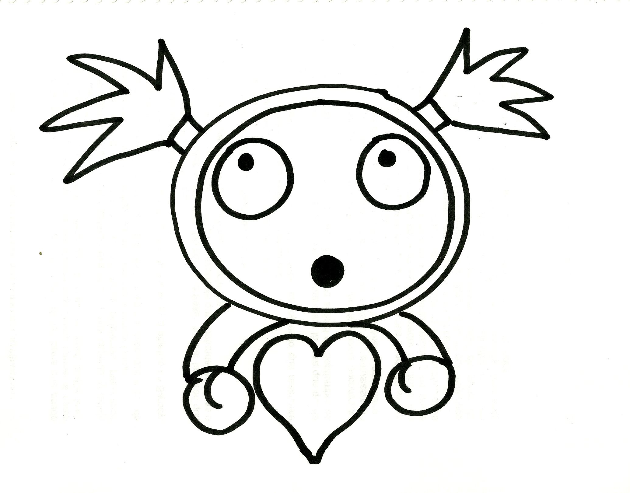 #DibujoGaru #DibujoFacilParaNiños del #canalDeDibujo para #AprenderADibujar o #AprenderAPintar de #TallerArteLibre https://www.youtube.com/user/exitoparatodos/