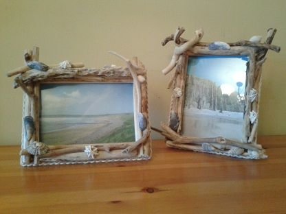 driftwood christmas | My driftwood picture frames are all made with selected pieces of local ...