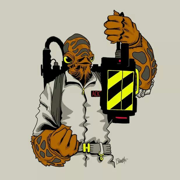 Starwars and Ghostbusters