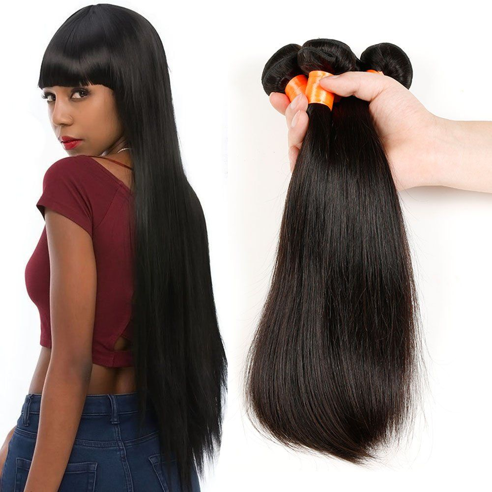 Brazilian Straight Hair Unprocessed Virgin Straight Hair Bundle