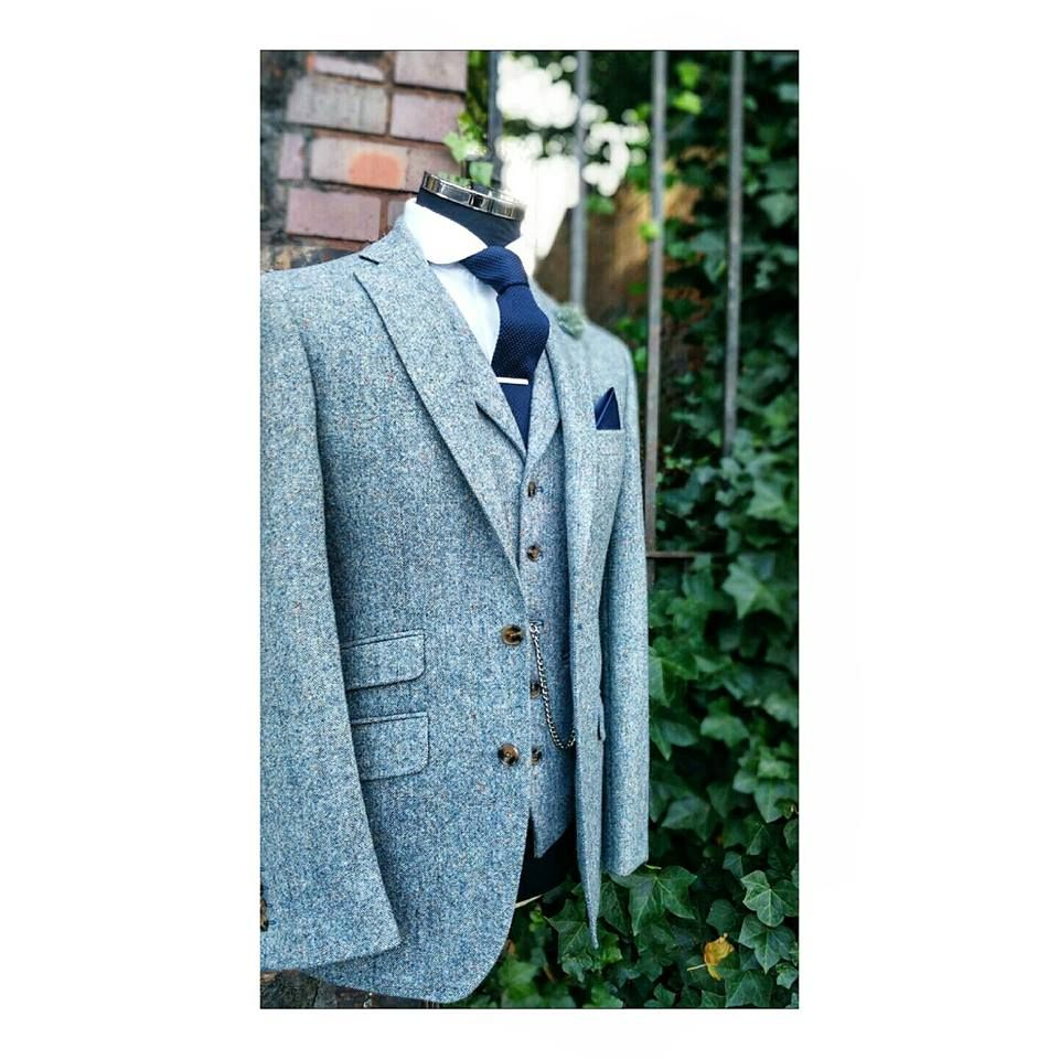 Donegal Tweed 3 piece suit #wedding | Menswear Style /Groom /Wedding ...