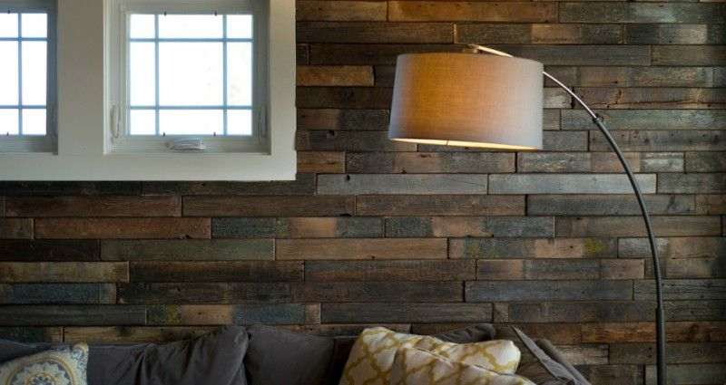 Installation Friendly Pre Finished Reclaimed Barn Wood Install Timberline Wall Planks For Use