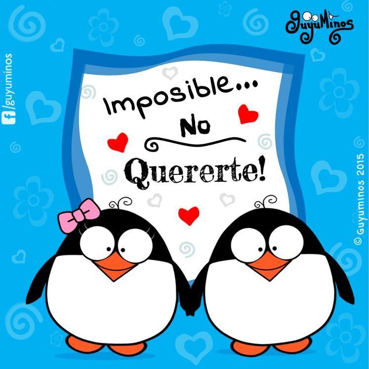 Imposible no quererte,© Guyuminos 2015 #guyuminos #ilustracion ...