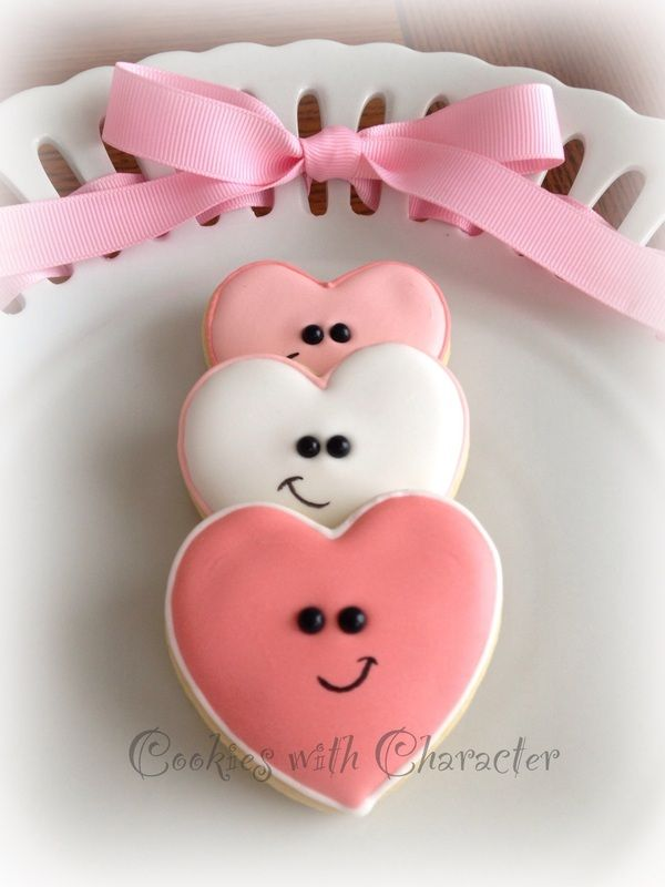 Heart Cookies Cookies With Character Via