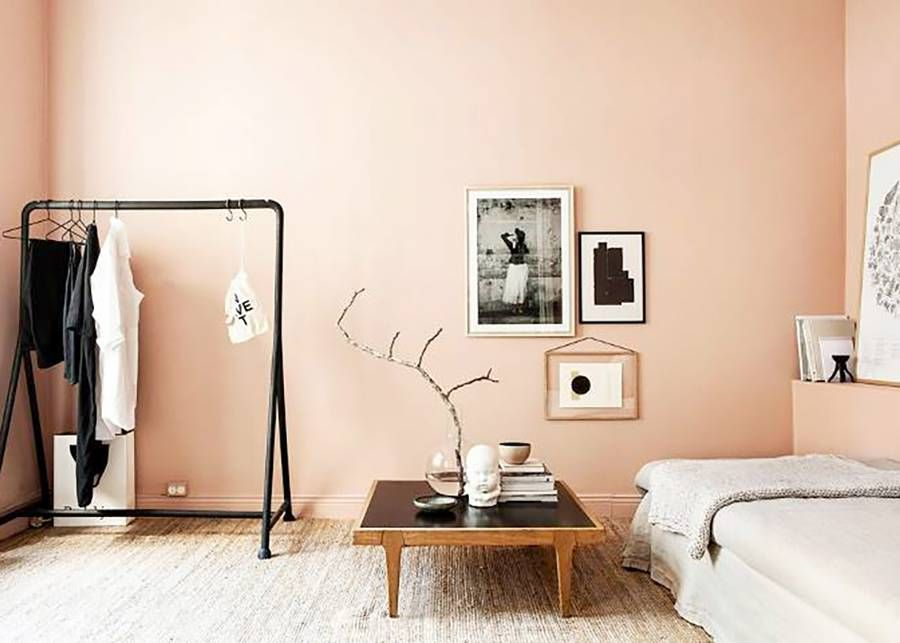 6 Paint Colors That Make A Room Look Bigger Mydomaine Peach Bedroom Home Decor Bedroom Peach Bedroom Wall New bedroom wall paint color