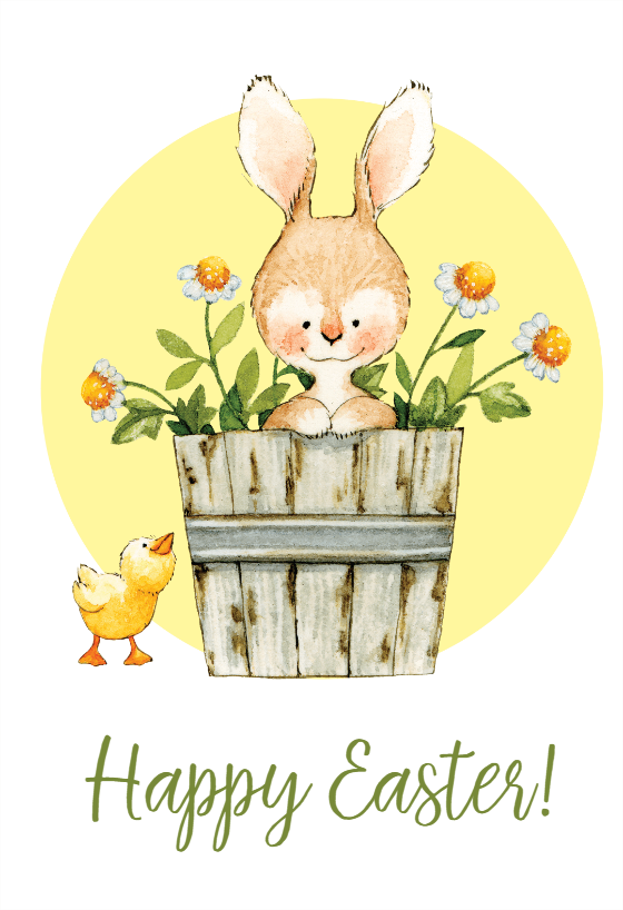 Easter Bunny Easter Card Free Greetings Island In 2021 Easter Cards Cards Easter Bunny