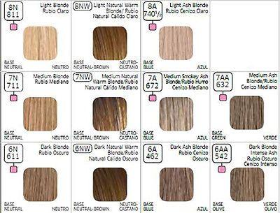 Wella color charm aa medium blonde intense ash permanent hair also best colour formulas images in coloring rh pinterest