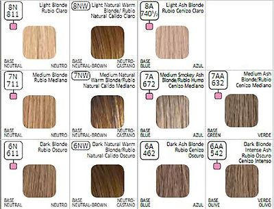 Details About Wella Color Charm 7aa 632 Medium Blonde Intense Ash