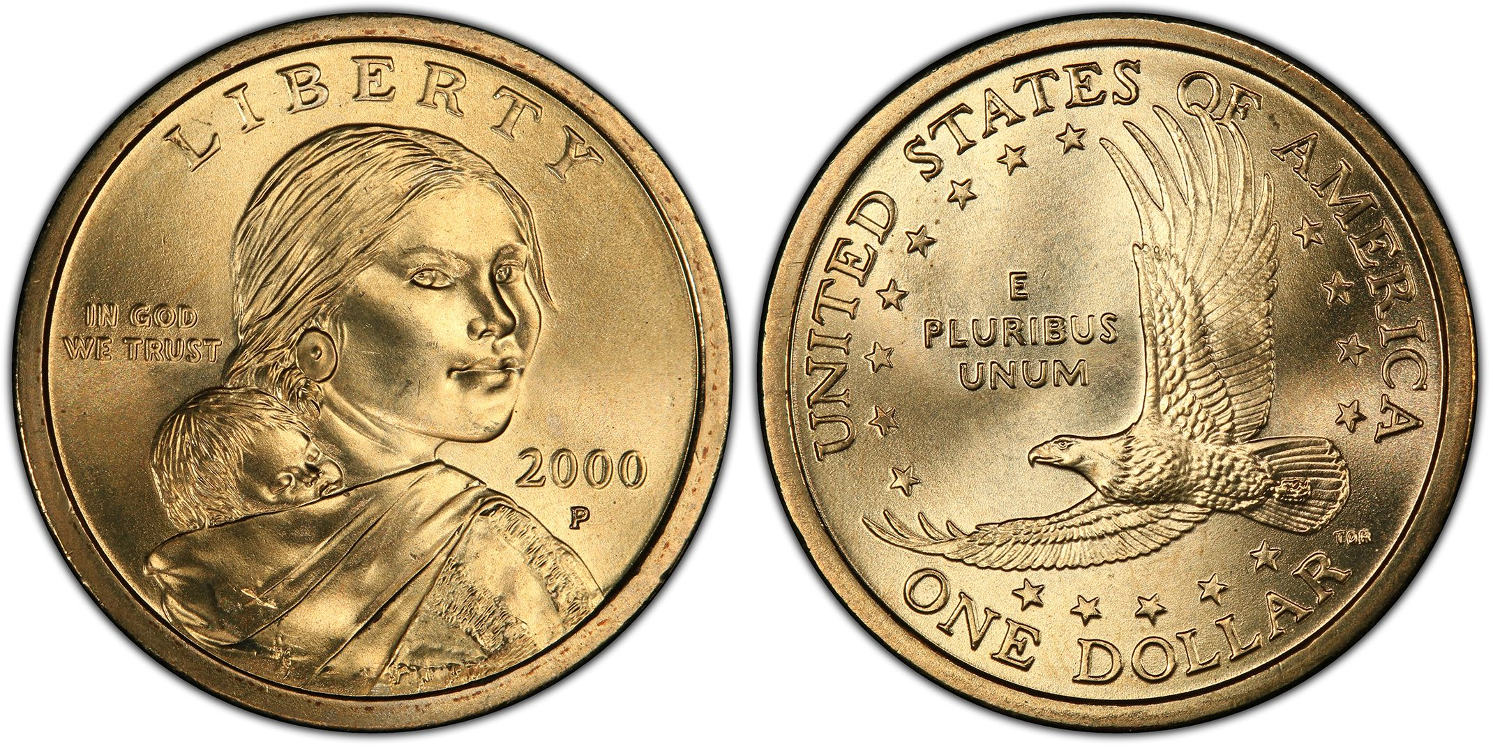 what year was the first dollar coin made