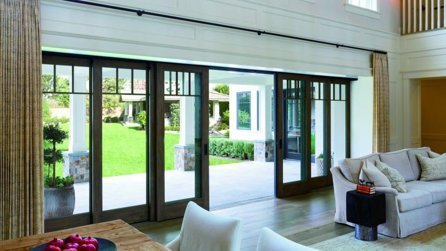 Large Sliding Glass Doors Bring Outdoors In Glass Doors Patio Sliding Glass Doors Patio Sliding Doors Exterior