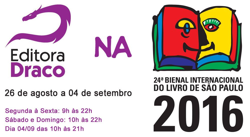 Draco na Bienal Internacional do Livro de São Paulo
