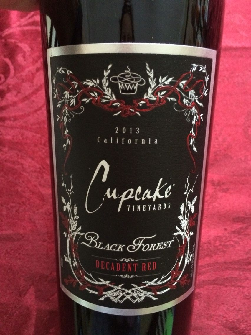 Can T Wait To Try This One Cupcake Black Forest Wine Bottle Different Wines Wines
