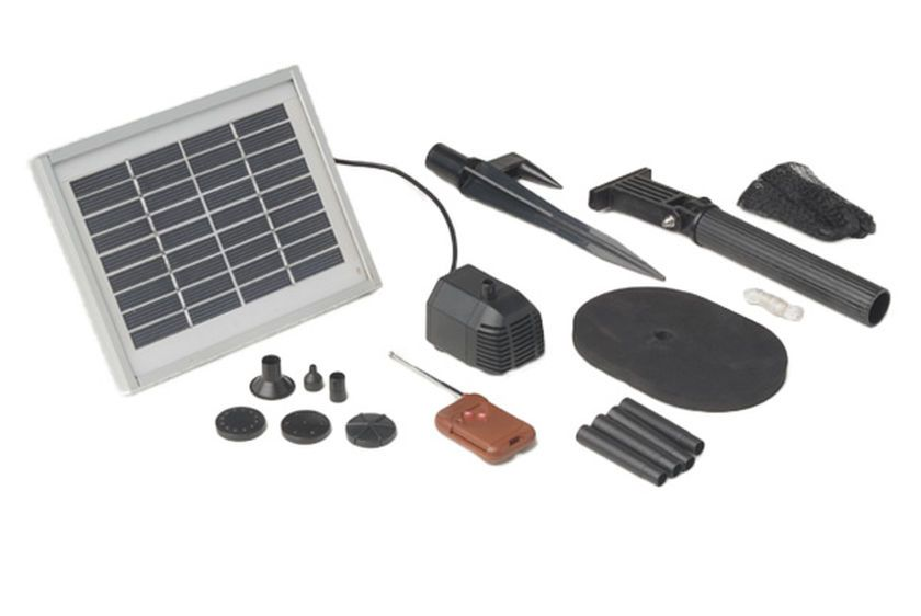 Solar Fountain Pump Kit   Buy from Gardener's Supply