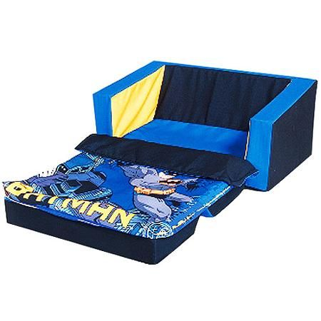 Batman Flip Sofa Bed With Sleeping Bag Walmart Com Sofa Bed