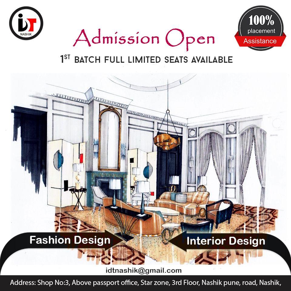 We Are Idt Nashik An Interior Designing Institute In Nashik Nashik Design Fashion Design