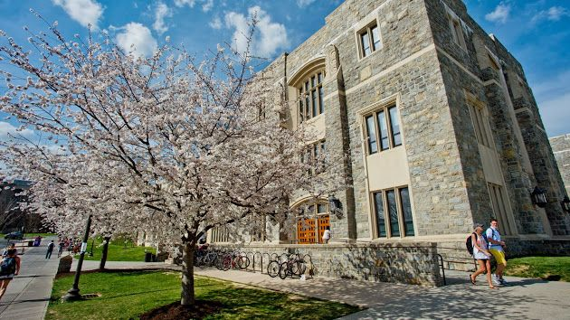 Virginia Tech-where I attended college