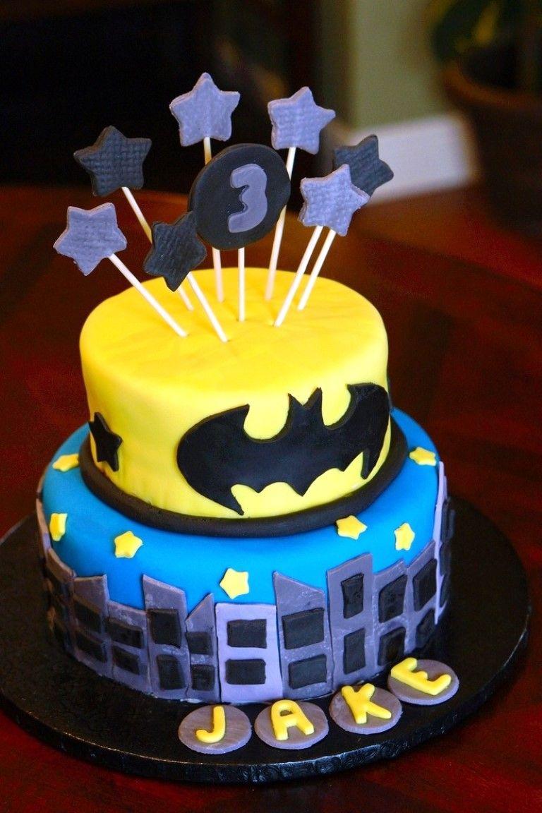 Batman Cake Ideas Pinterest 2014 Cake Designs Ideas Batman Birthday Cakes Boy Birthday Cake Batman Cake