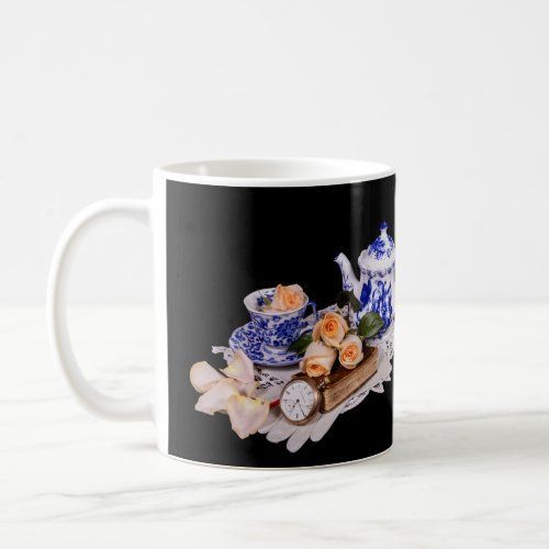 Blue & White Teapot w/Peach Roses Mother's Day Mug   younique mothers day, mothers day kids poem, mothers day kindergarten crafts #MothersDay2015 #mothersdaypresents #mothersdaybouquets #Blue #mother #mother's day brunch #mother's day diy gifts #mother's day kindergarten crafts #mothers day cards #mothers day decorations ideas #mothers day food ideas 2020 #mothers day grandma ideas #peach #roses #teapot #white #wPeach