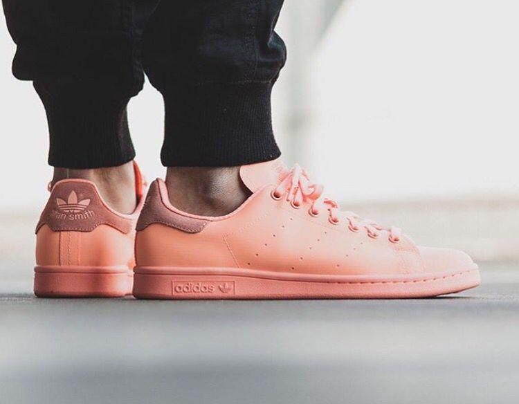 Adidas Stan smiths adi colour in peach