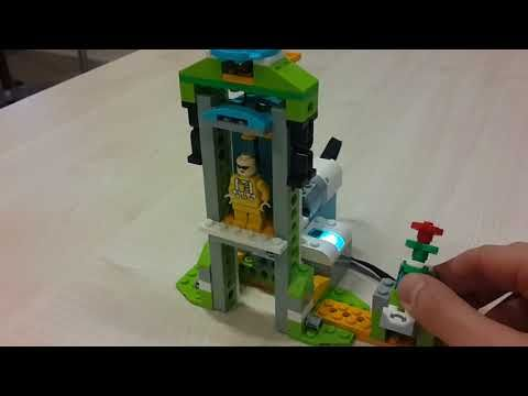 Elevator Lift Lego Wedo 20 Education Projects Youtube