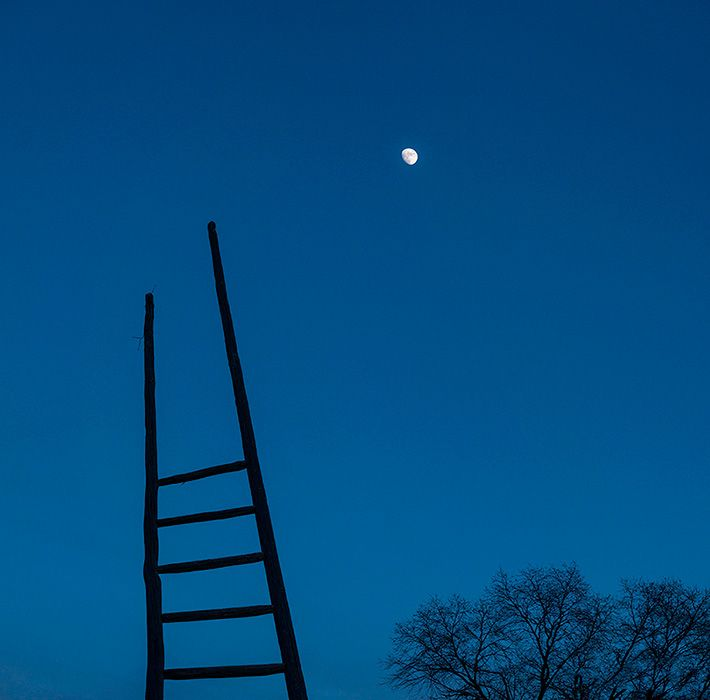 Channelng Georgia?  Moon Ladder - Geraint Smith Photography