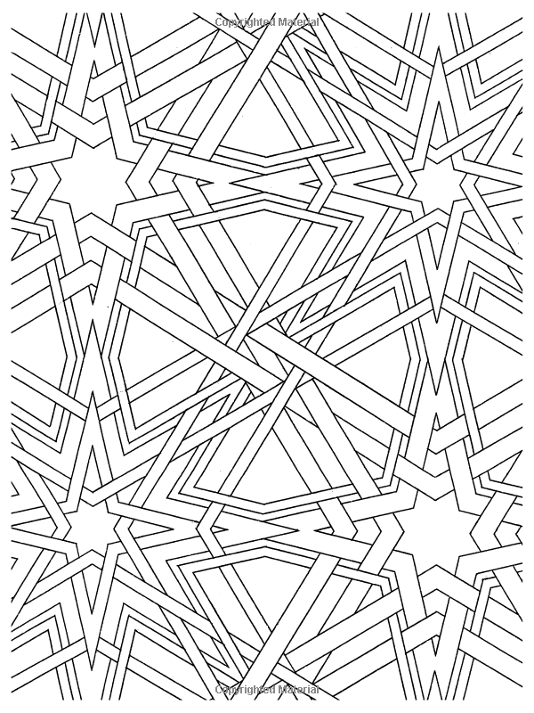 Spectacular Star Designs Dover Design Coloring Books Wil Stegenga 9780486469935 Pattern Coloring Pages Designs Coloring Books Coloring Pages Inspirational