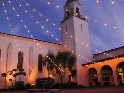 Unitarian Society Of Santa Barbara California Wedding Venues 1