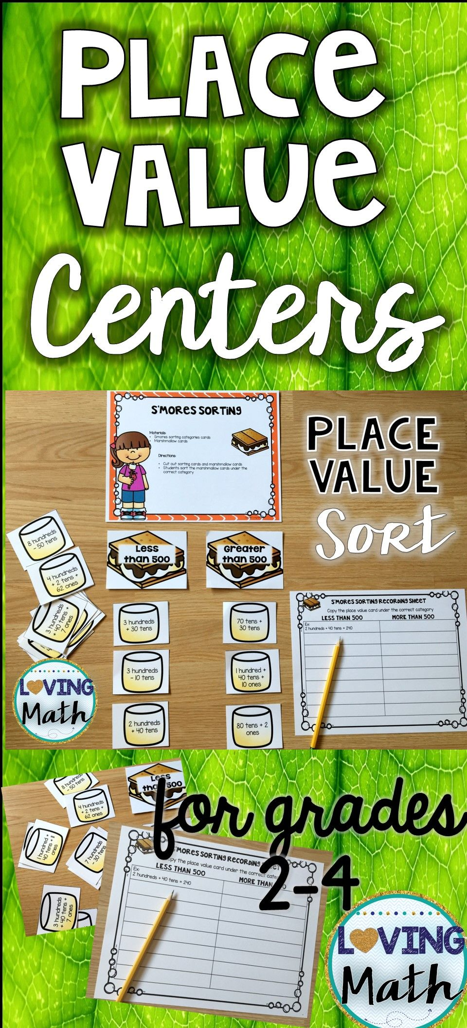 place value and rounding games and center activities math games math place values math centers. Black Bedroom Furniture Sets. Home Design Ideas