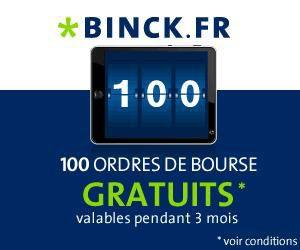 Binck Fr 100 Ordres De Bourse Gratuits Valables Pendant 3 Mois