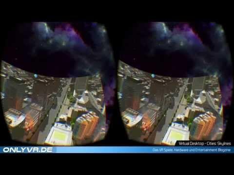 Cities: Skylines  Virtual Desktop ( VR / Oculus) #vr #virtualreality #virtual reality