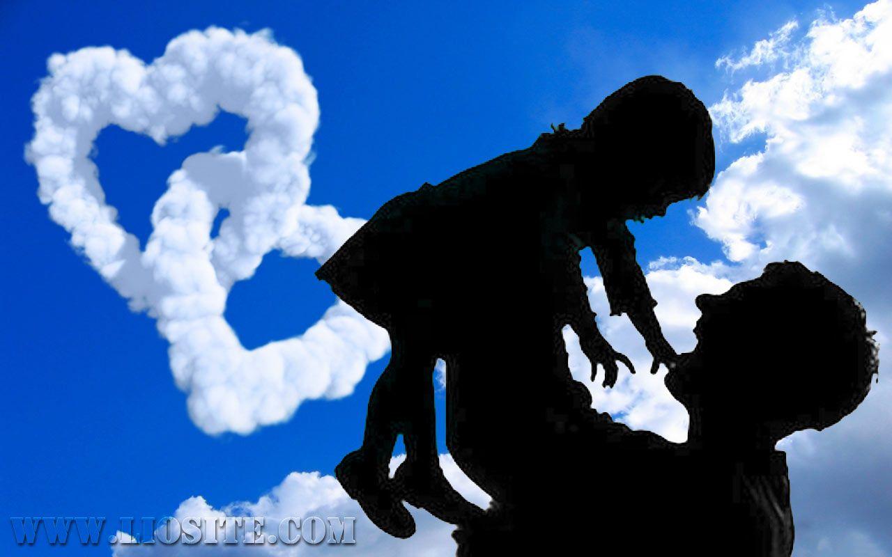 Lettera Di Un Padre Alla Figlia Silhouette