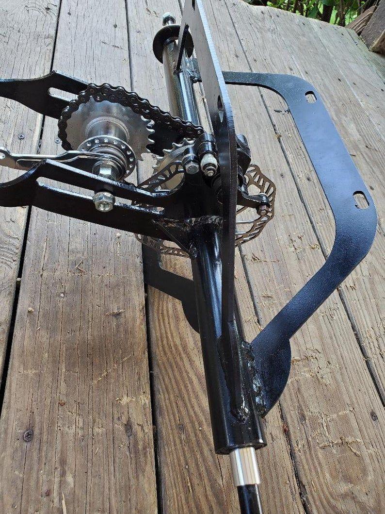 Bike Trike Conversion Axle Make Any Bike Into A 3 Wheel Trike In
