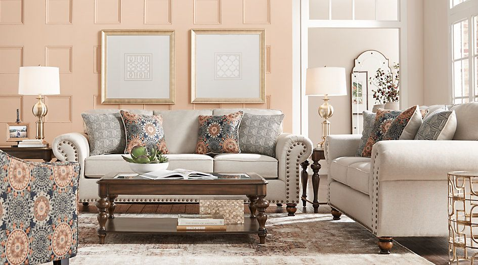 Affordable Living Room Designs Extraordinary Court Street Beige 2 Pc Living Room 99999Find Affordable 2018