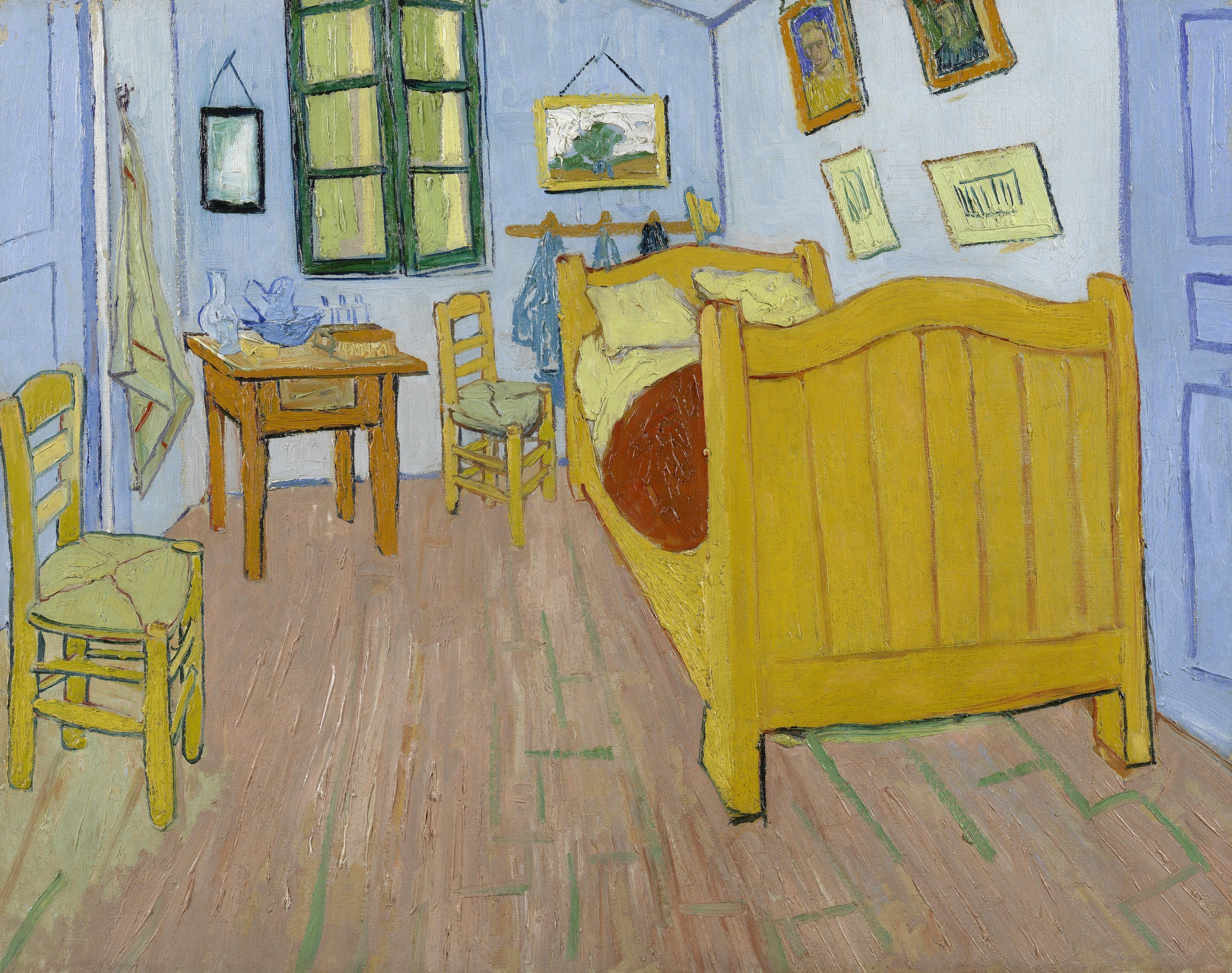 "Vincent van Gogh 1853 1890 ""The Bedroom"" Oil on"