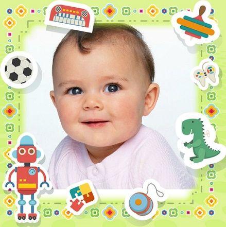 Fotomontajes para bebes gratis marcos infantiles fotos - Marcos para fotos infantiles ...