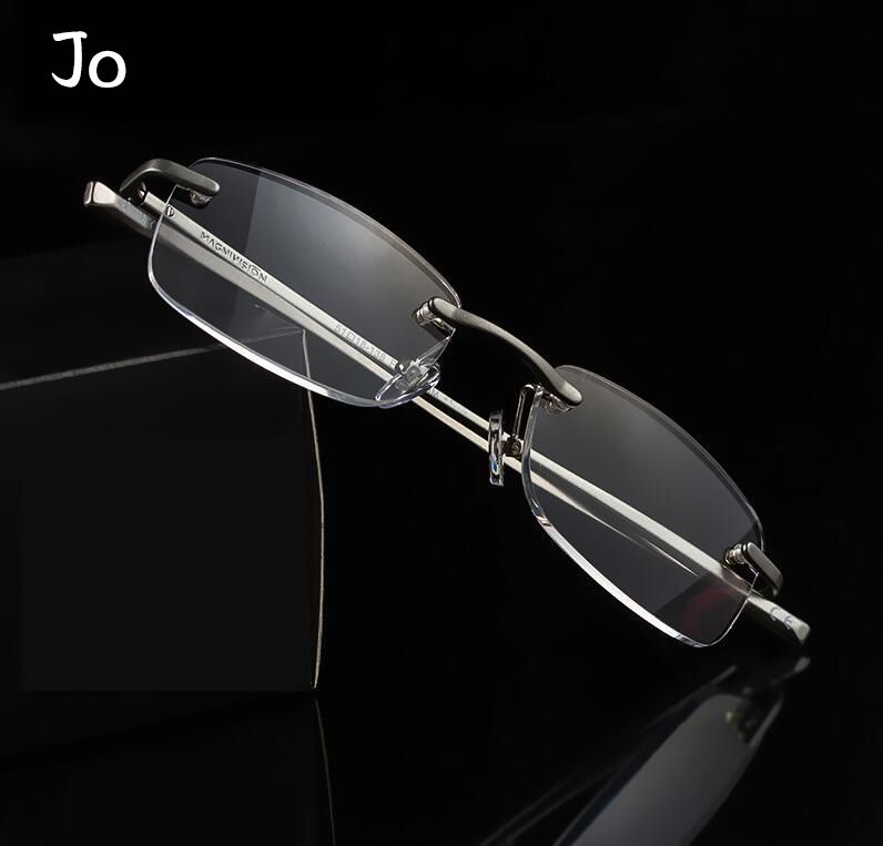 16eb24816e8 Classical High Quality Alloy Frame Reading Glasses Women Men Anti-Blue  Computer Presbyopic Eyewear
