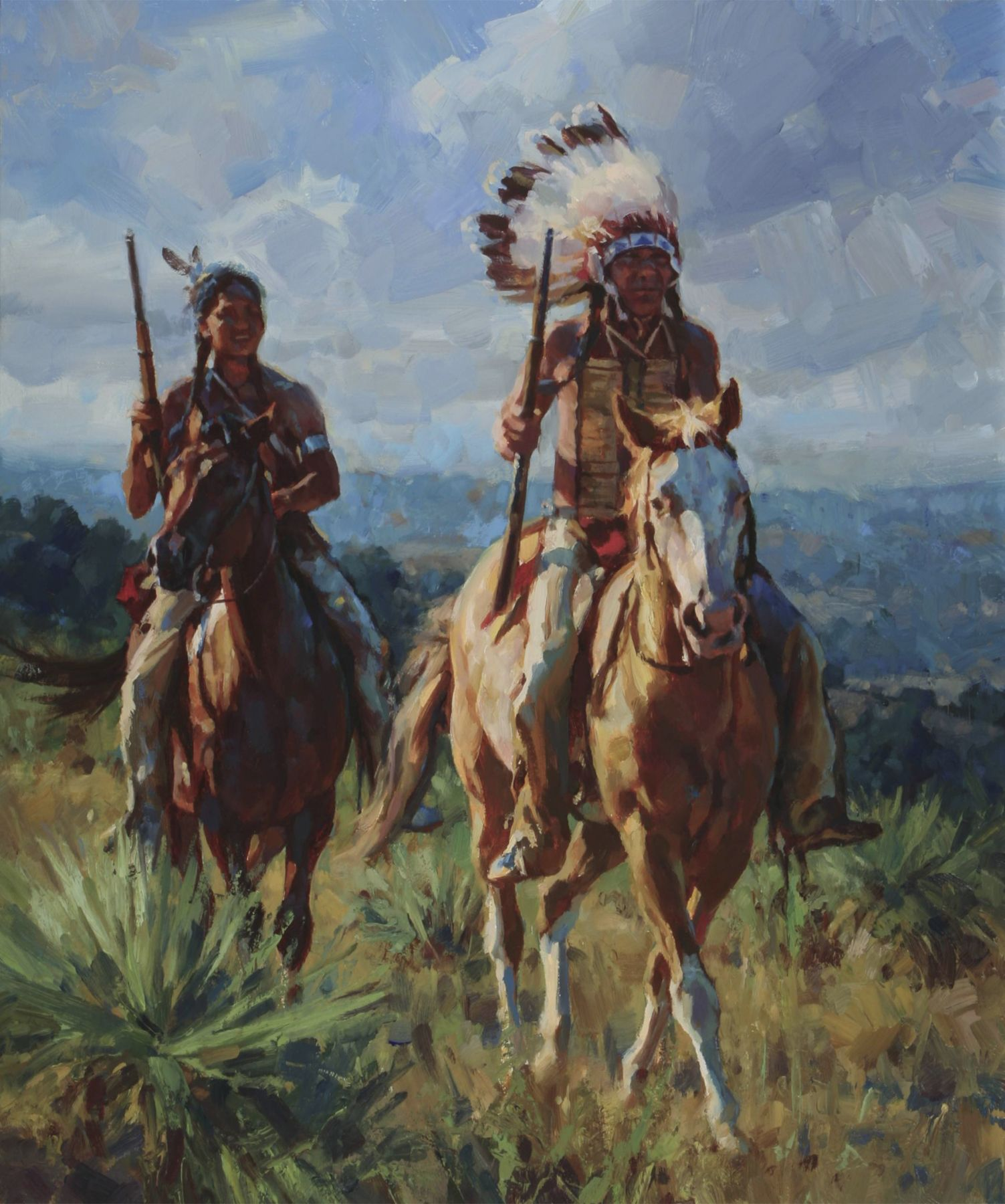 Sioux Riders-jason Rich Western Artists American