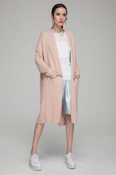 Longline wool cardigan | Wear | Pinterest | Wool cardigan, Front ...