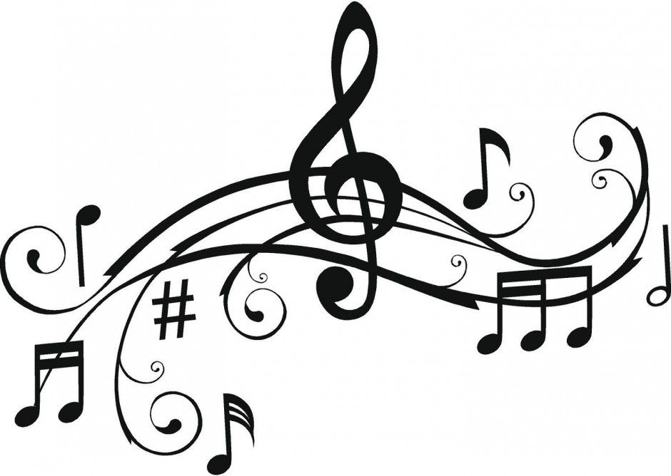 Beatiful Music Notes Coloring Pages For Kids Coloring Pages 291639